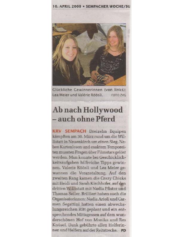 Sempacher Woche 10.04.2007