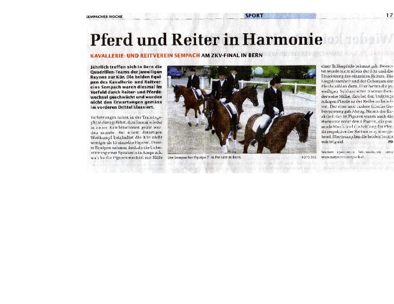 Sempacher Woche – Ausgabe vom 25.10.2007