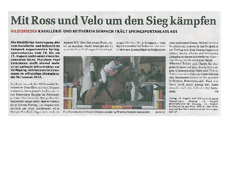 Sempacher Woche 10.08.2012