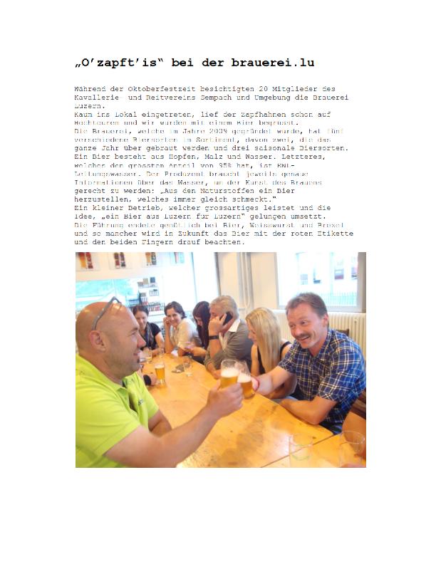 Sempacher Woche 19.9.2014