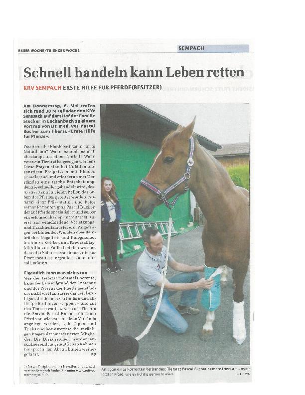 Sempacher Woche 8.05.2014